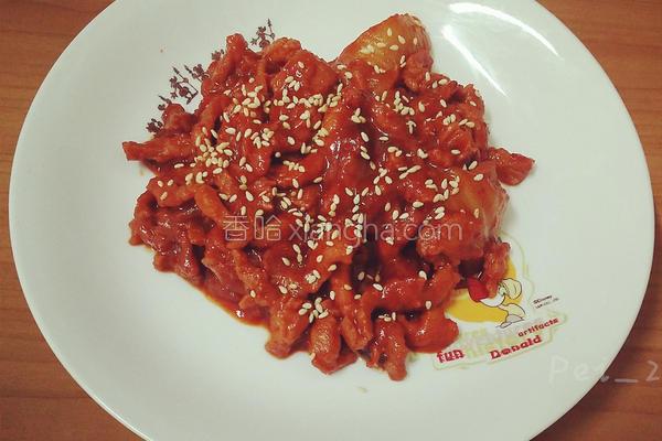 韩式泡菜猪肉贩的做法