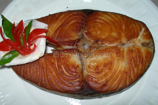 干煎土托鱼的做法