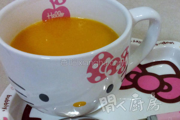健康南瓜汤的做法