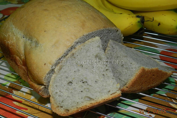 香蕉面包的做法