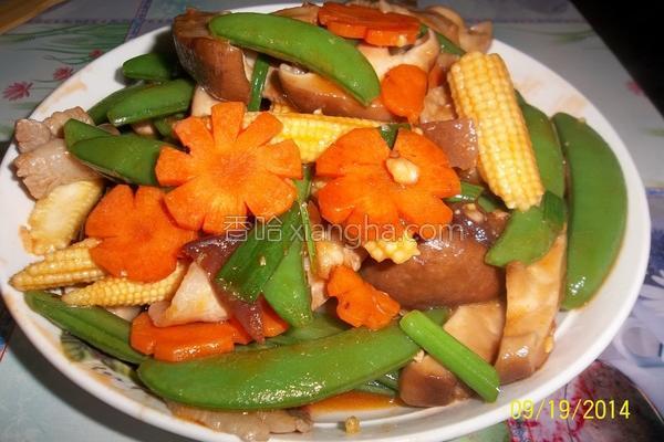酱炒甜豆的做法