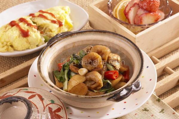 三杯杏鲍菇鱼饺的做法