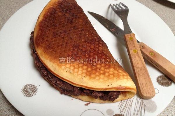 红豆松饼的做法
