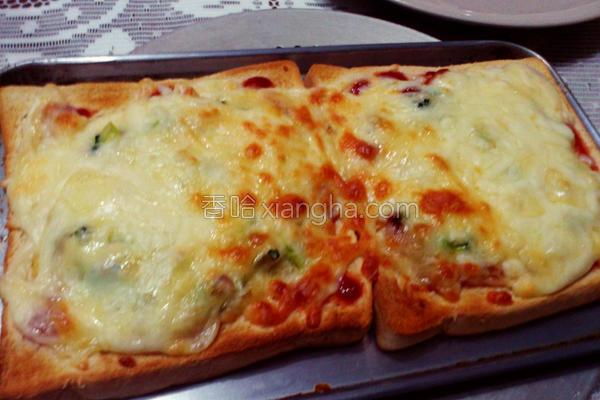 双司对决披萨的做法