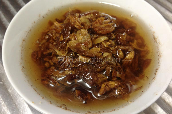 简易红葱油酥的做法