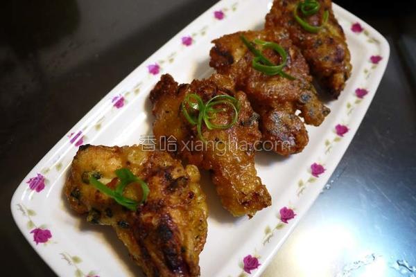 日式海苔鸡唐扬的做法