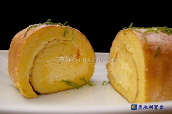 南瓜卷心蛋糕的做法
