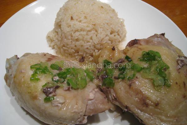 粉猪儿海南鸡饭的做法