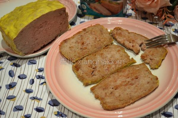 自制香煎午餐肉的做法