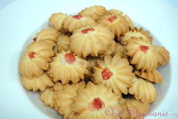 菊花饼干的做法