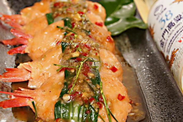 泰式柠檬虾的做法
