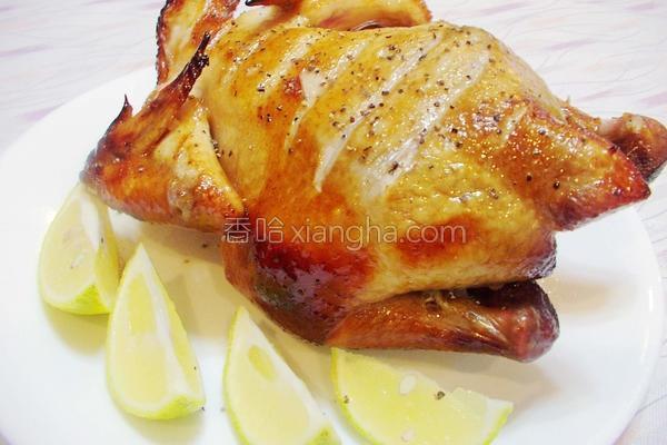 果醋蜂蜜烤全鸡的做法