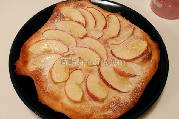 薄脆香甜苹果比萨的做法