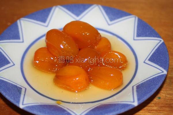 止咳良方蜜金枣的做法