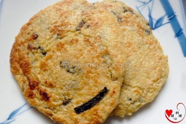 海苔豆渣煎饼的做法