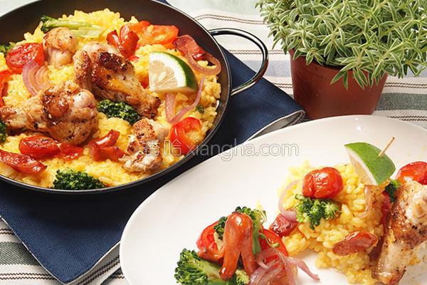 西班牙炖饭的做法