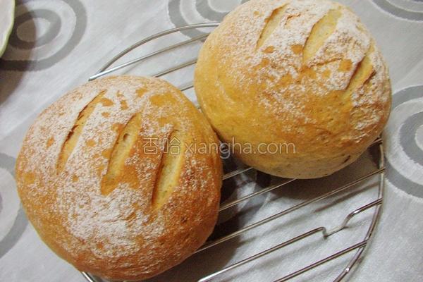 法国香草面包的做法
