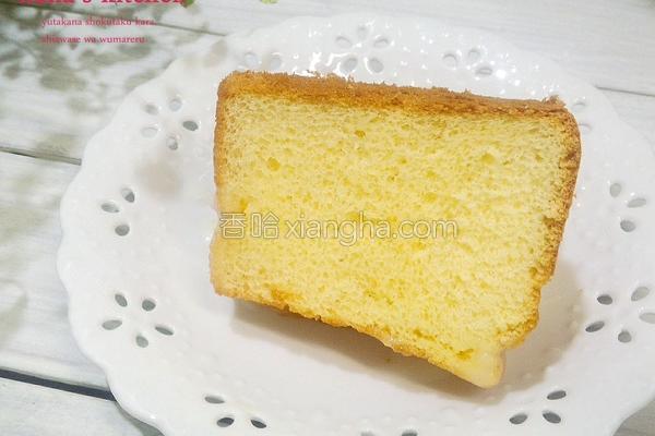 香草戚风蛋糕的做法