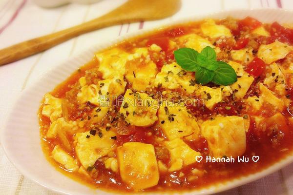 意大利肉酱烩豆腐的做法