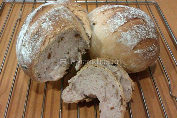 玫瑰冰酿面包的做法