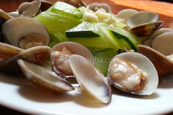 蛤蛎蒜烧黄瓜的做法