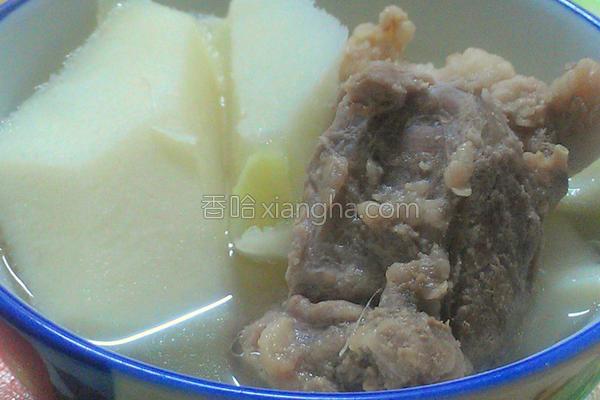 竹笋排骨汤的做法