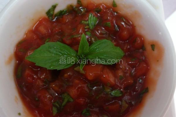 塔香番茄酱的做法