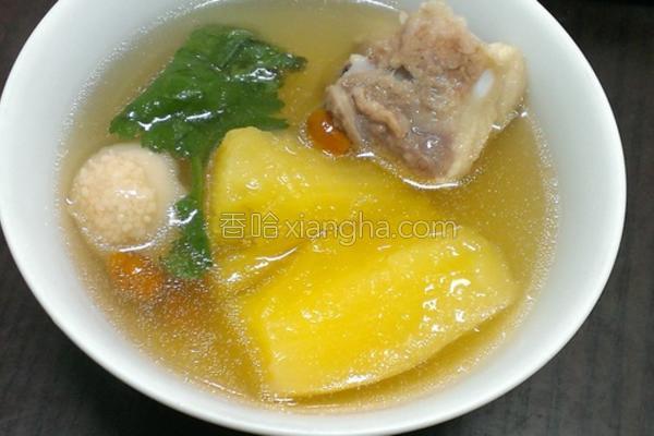 树薯排骨汤的做法
