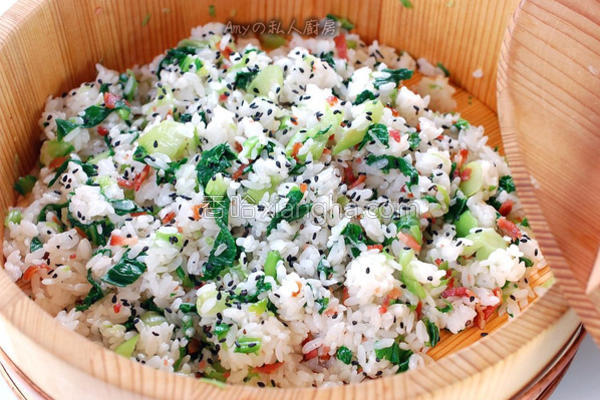 上海菜饭简易的做法