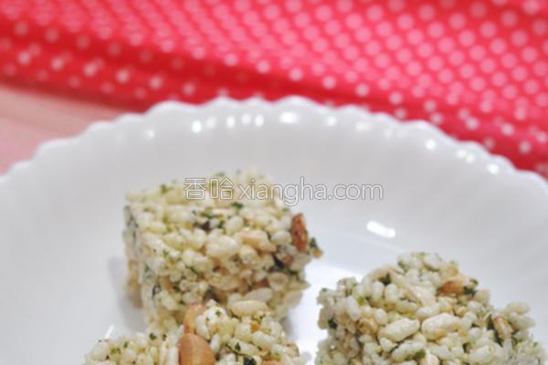海苔花生米果的做法