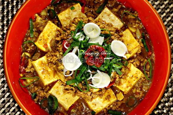 麻辣咖哩豆腐的做法