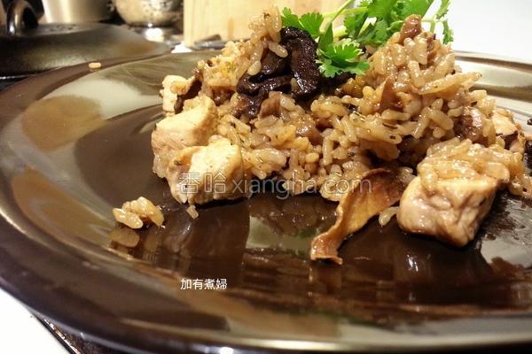 铸铁锅麻油鸡饭的做法