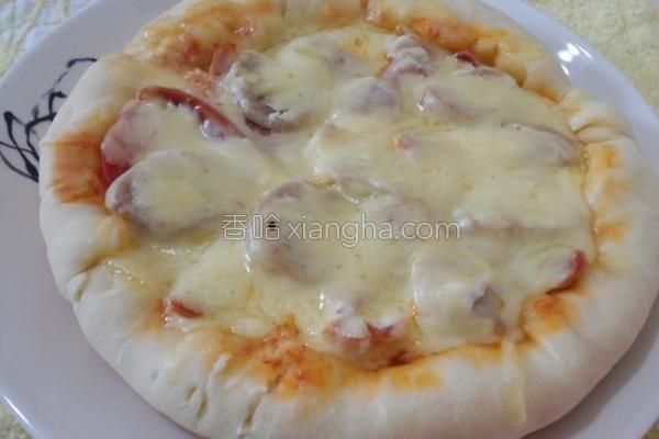平底锅烤披萨的做法