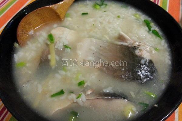 虱目鱼肚粥的做法