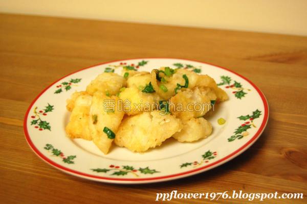 椒盐鱼块的做法