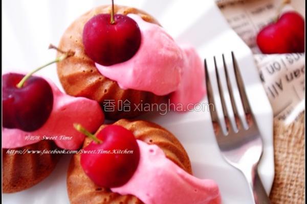 樱桃酱可可蛋糕的做法