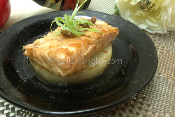 鲑鱼白玉盅的做法