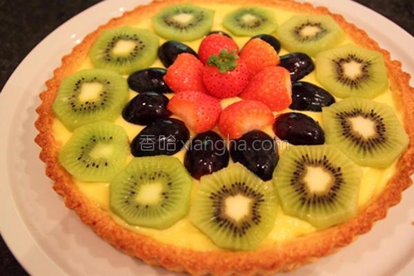 综合水果派的做法