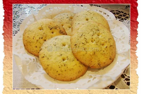 桂花酿茶饼干的做法