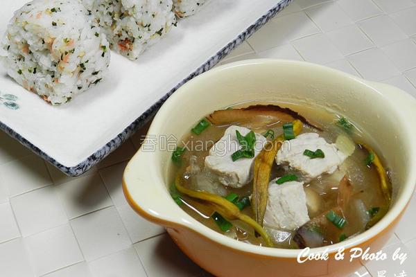 鲔鱼味噌汤的做法