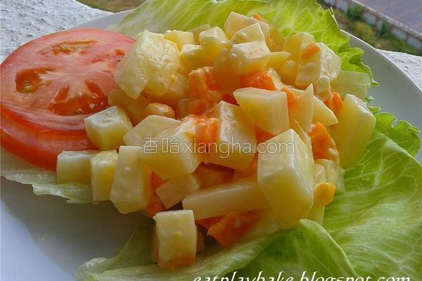 马铃薯沙拉的做法