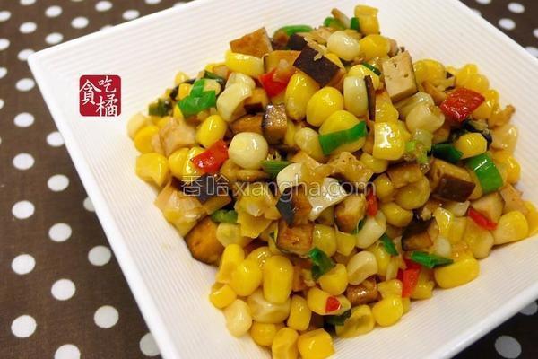 辣炒玉米豆干的做法