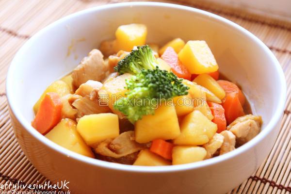︎日式马铃薯炖肉的做法