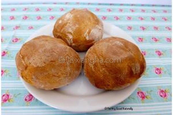 素食小面包的做法