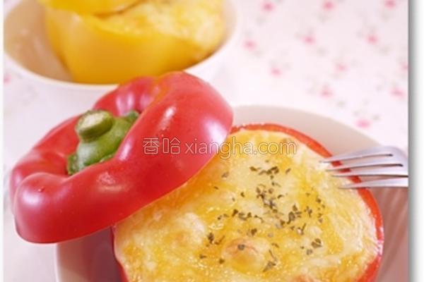 焗烤甜椒的做法