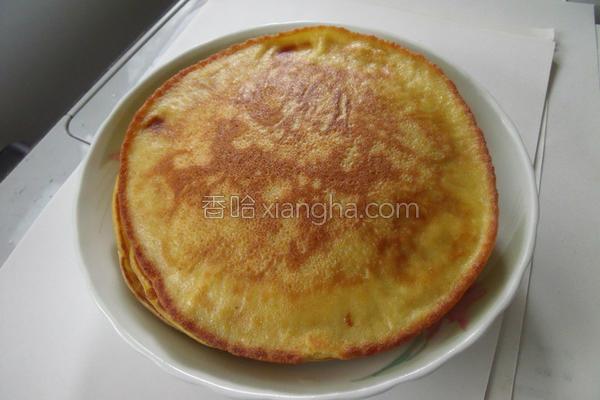 芒果松饼的做法