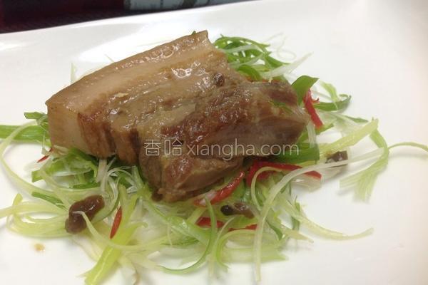 紫苏梅焢肉的做法