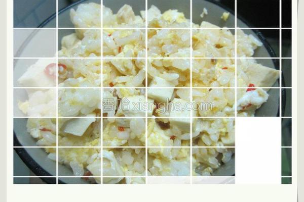 臭豆腐炒饭的做法
