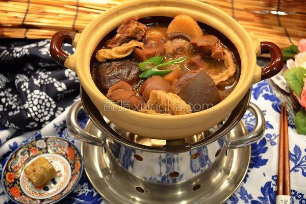 南乳腐竹羊肉煲的做法