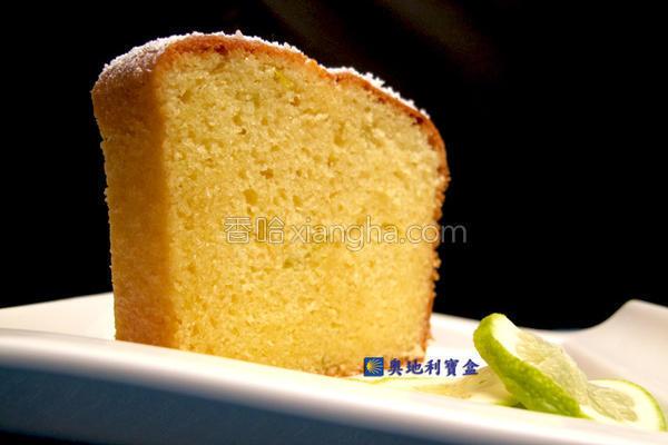 乳酪磅蛋糕的做法